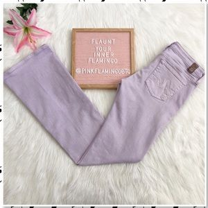 AG Adriano Goldschmied Angel Bootcut Jean Violet